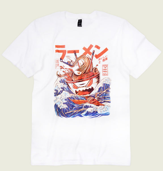 THE GREAT RAMEN OF KANAGAWA Unisex T-shirt - Ilustrata - Tees.ca