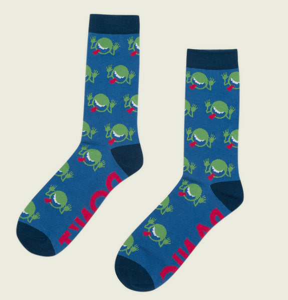 THE HITCHHIKER'S GUIDE TO THE GALAXY Unisex Socks L/XL - Out of Print - Tees.ca