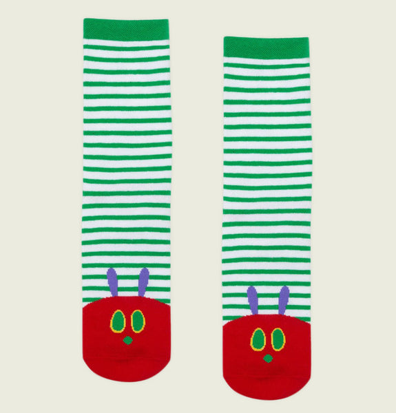 THE VERY HUNGRY CATERPILLAR Unisex Socks S/M - Out of Print - Tees.ca