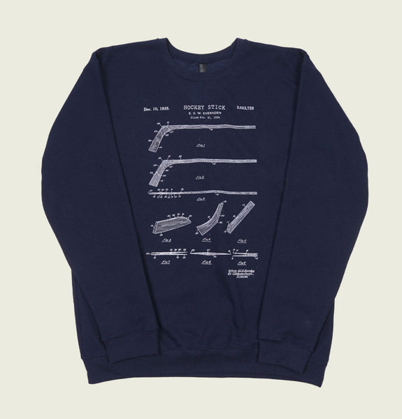 HOCKEY STICK PATENT Unisex Sweatshirt