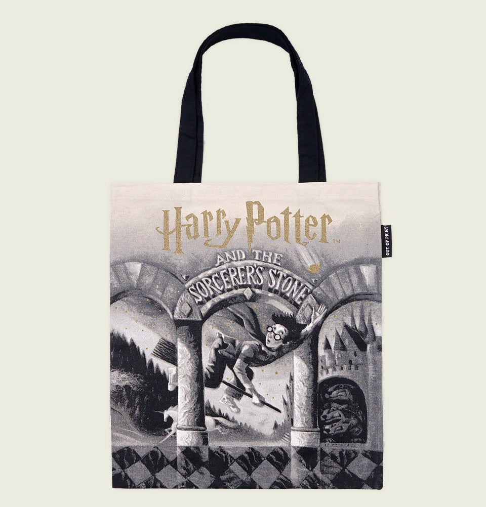 HARRY POTTER AND THE SORCERER'S STONE TOTE BAG - Out of Print - Tees.ca
