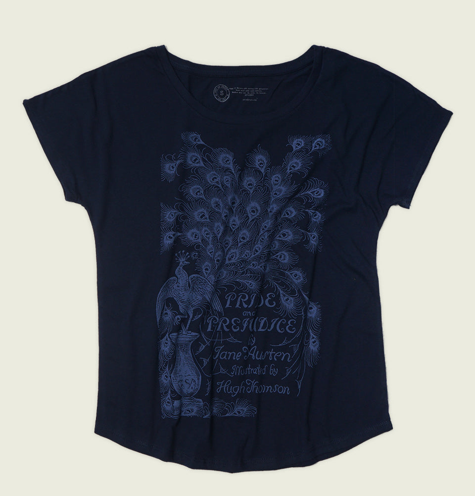 PRIDE AND PREJUDICE Women's Relaxed Fit Dolman - Out of Print - Tees.ca