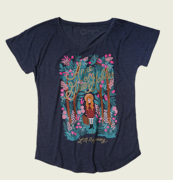 ANNE OF GREEN GABLES Women's Relaxed Fit Dolman - Out of Print - Tees.ca
