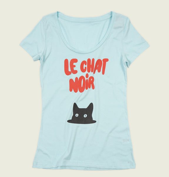 LE CHAT NOIR Women's T-shirt - t-shirtology - Tees.ca