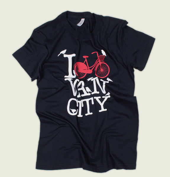 I [BIKE] VAN CITY Women's Tee - Tees.ca