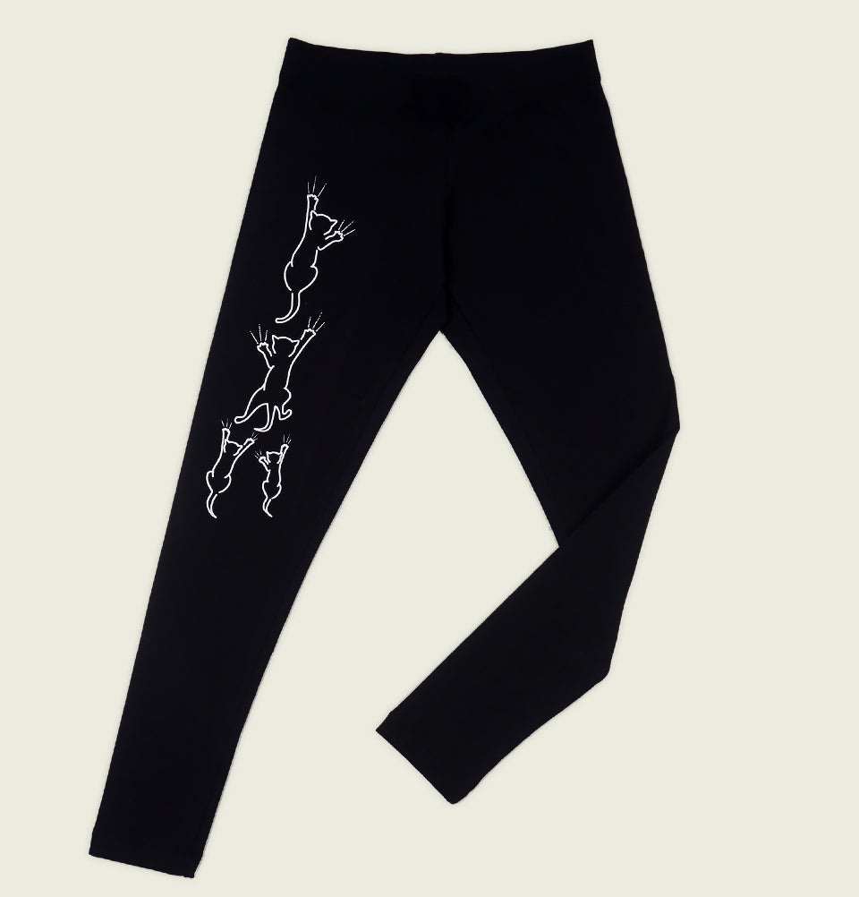 CLIMBING CATS Women's Leggings - Sowilo16 - Tees.ca