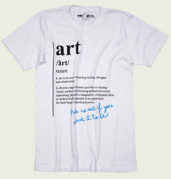 Art Definition Unisex T-shirt - MinimaliTEES - Tees.ca