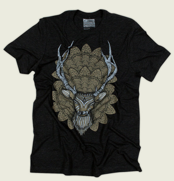 BUCK HEAD Unisex T-shirt - Curbside Clothing - Tees.ca