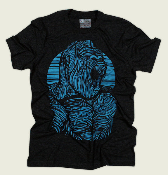 GORILLA Unisex T-shirt - Curbside Clothing - Tees.ca