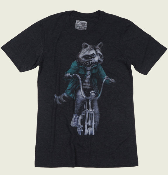 RACCOON Unisex T-shirt - Curbside Clothing - Tees.ca
