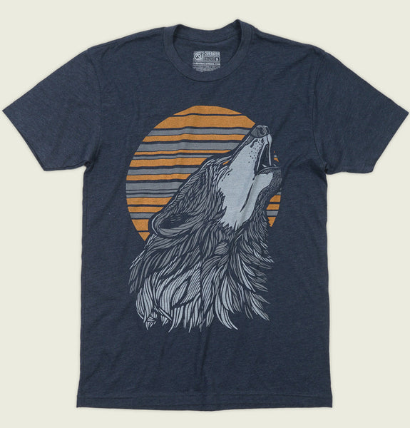 WOLF Unisex T-shirt - Curbside Clothing - Tees.ca
