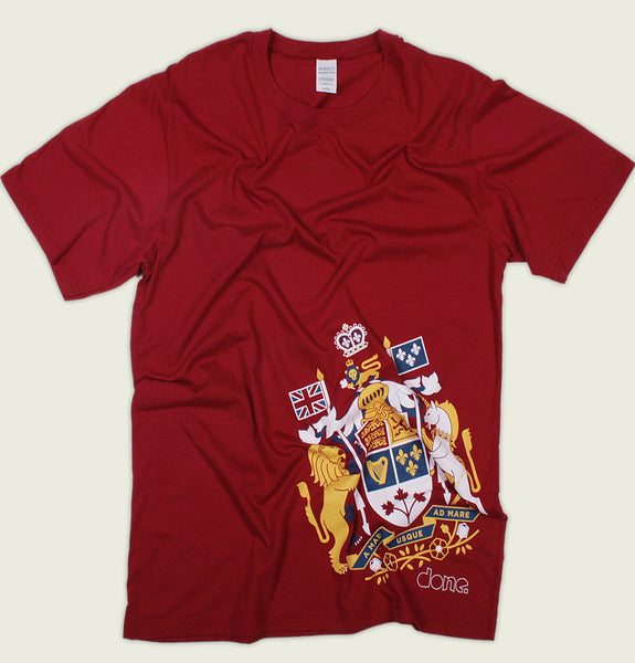 CANADIAN COAT OF ARMS Men's T-shirt - Tees.ca