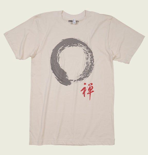 Enso circle of enlightenment Unisex T-shirt - MinimaliTEES - Tees.ca