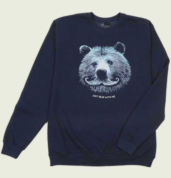 JUST BEAR WITH ME Unisex Sweatshirt - Alter Jack - Tees.ca