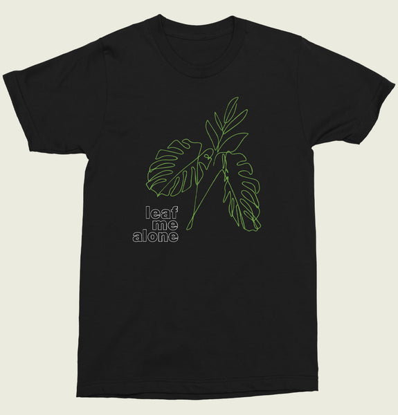 Leaf Me Alone Unisex T-shirt
