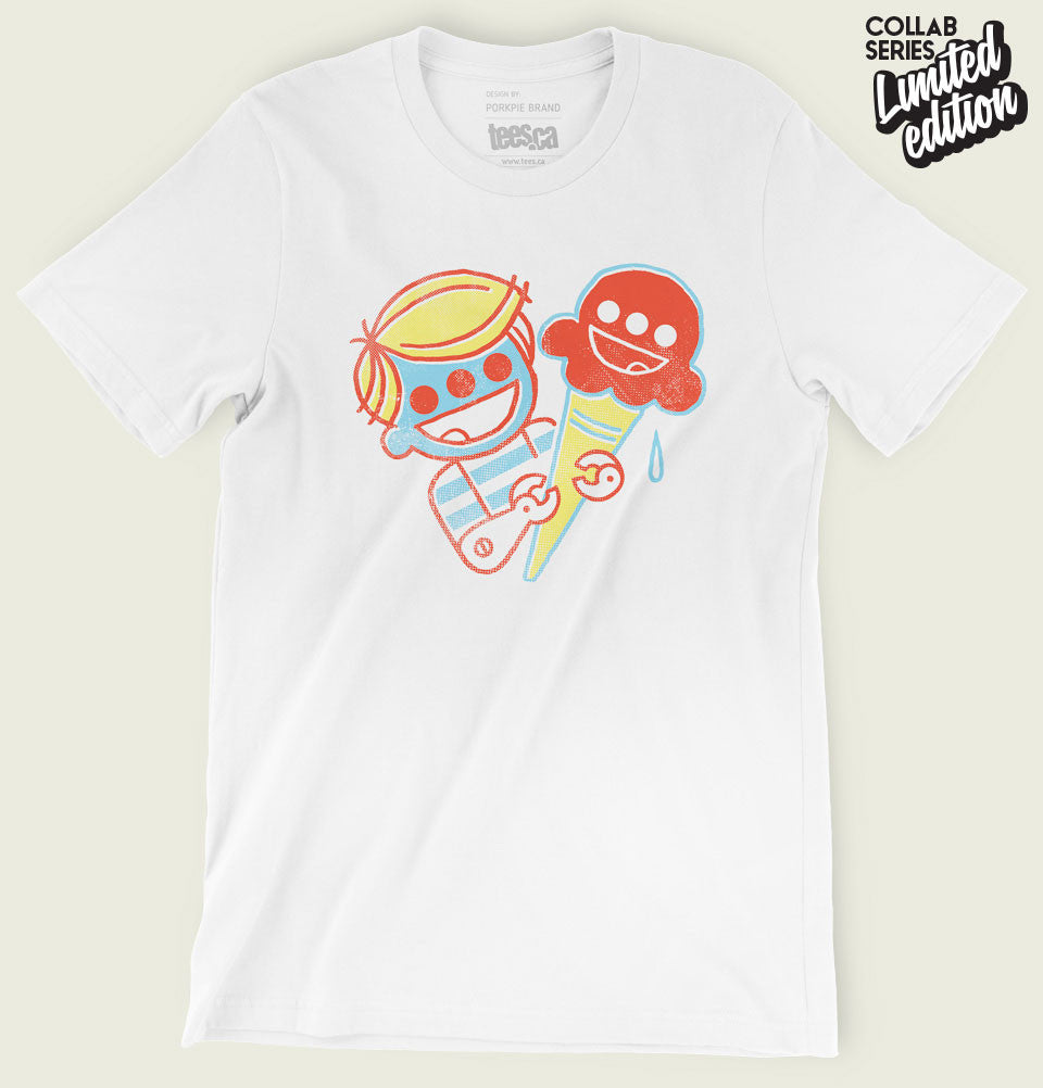 ICE-CREAM CYBORG Unisex T-shirt - Tees.ca