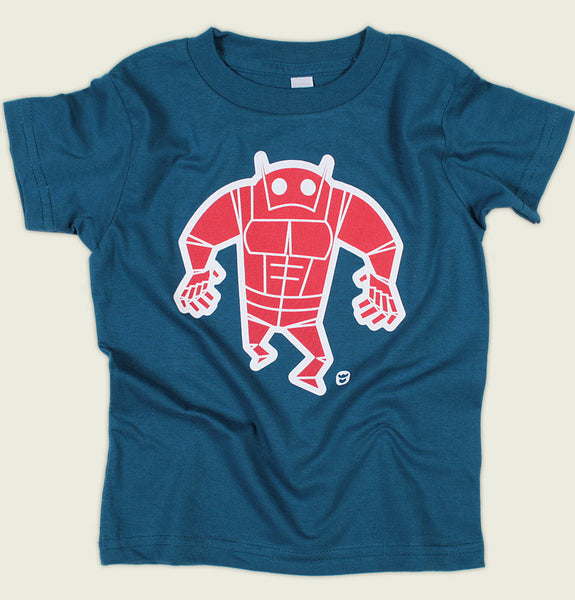 RED ROBOT Kid's T-shirt - Luc Latulippe - Tees.ca