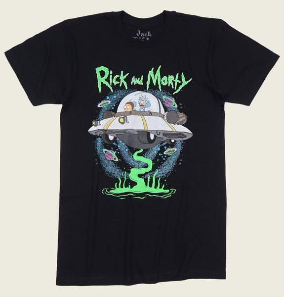 RICK AND MORTY UFO Unisex T-shirt