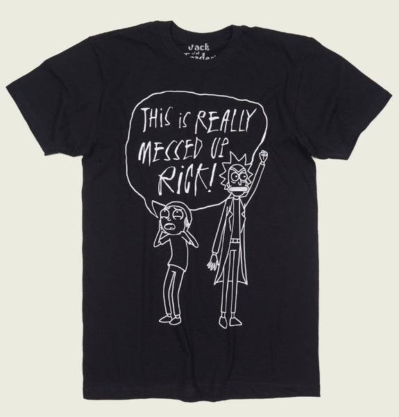 RICK AND MORTY MESSED UP Unisex T-shirt