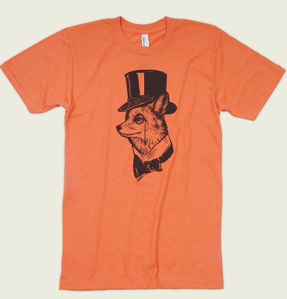 FANCY FOX Unisex T-shirt - Robbie Vergara - Tees.ca