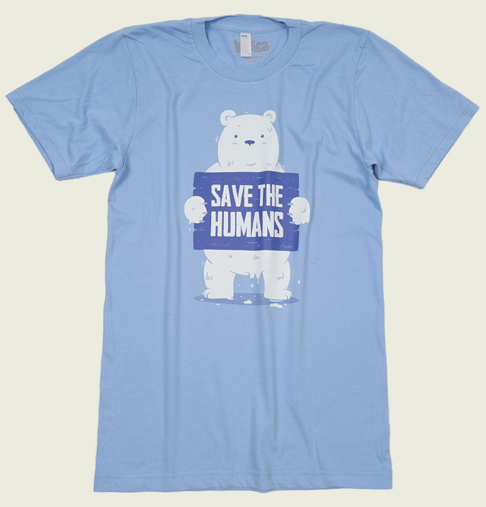 SAVE THE HUMANS Unisex T-shirt