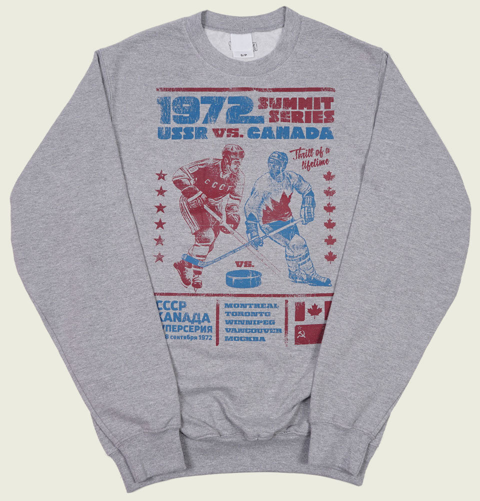 1972 SUMMIT SERIES HOCKEY Unisex Sweatshirt