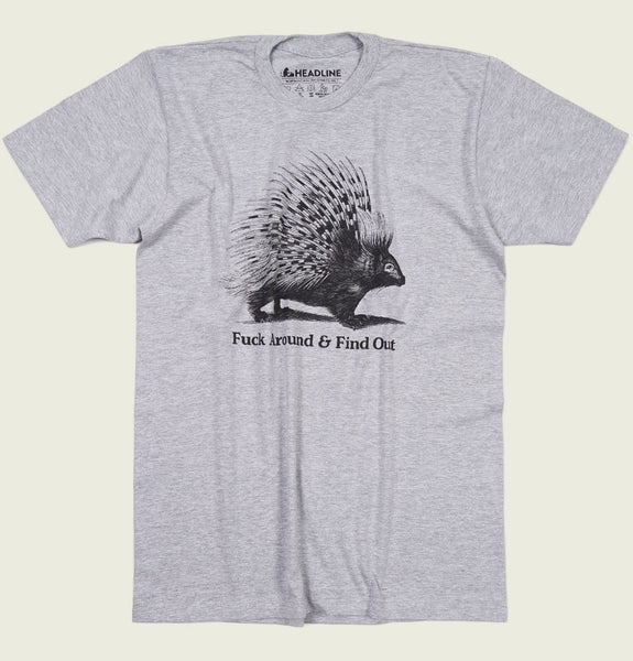 F--k Around And Find Out Porcupine Unisex T-shirt