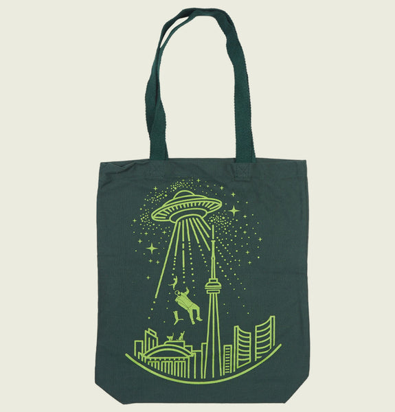 TORONTO ALIEN ABDUCTION TOTE BAG