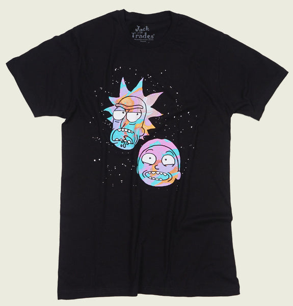 RICK AND MORTY Space Heads Unisex T-shirt