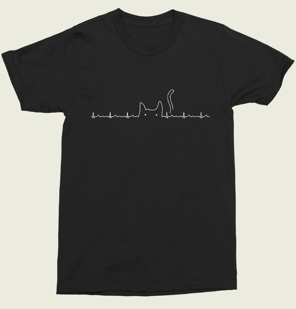 There is a cat in my heart Unisex T-shirt