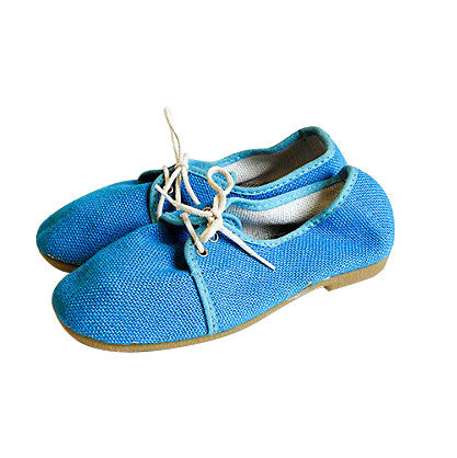 Chaussures toile bleue - pointure 26