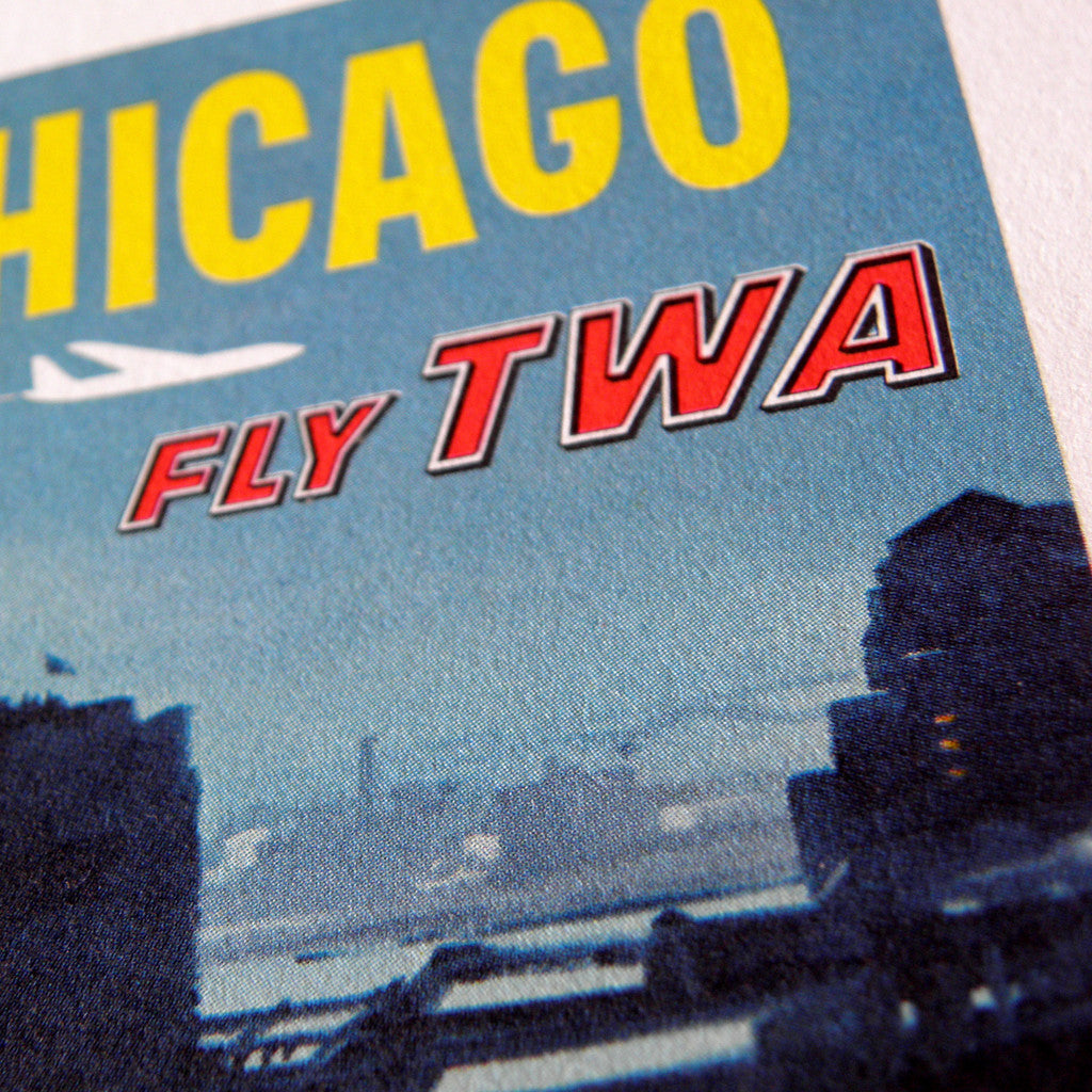 David Klein - TWA Chicago leaflet