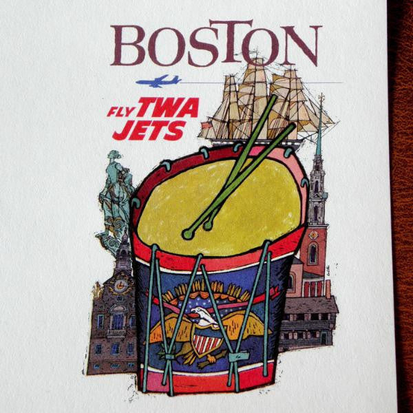 David Klein - TWA Boston leaflet