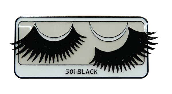301 Black Lash Enamel Pin