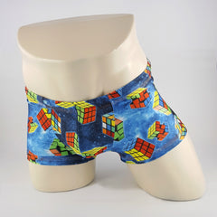 Rubik's Cube Swim Trunk