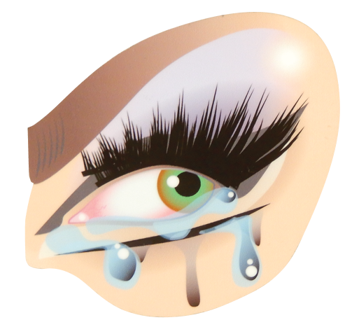 Tears Sticker