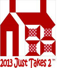 Just Takes 2 -  Schoolhouse Quilt