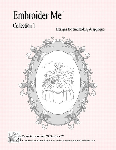 Embroider Me - Designs for Embroidery & Applique - Collection 1