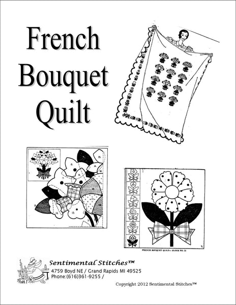 French Bouquet Quilt