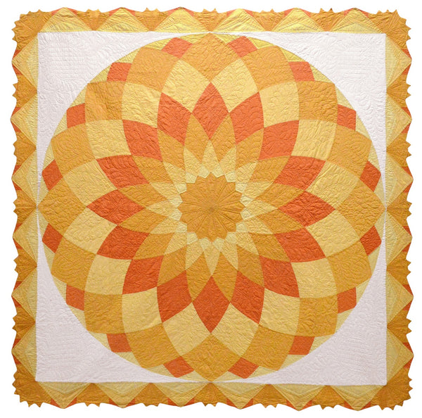 The Giant Dahlia Quilt Pattern