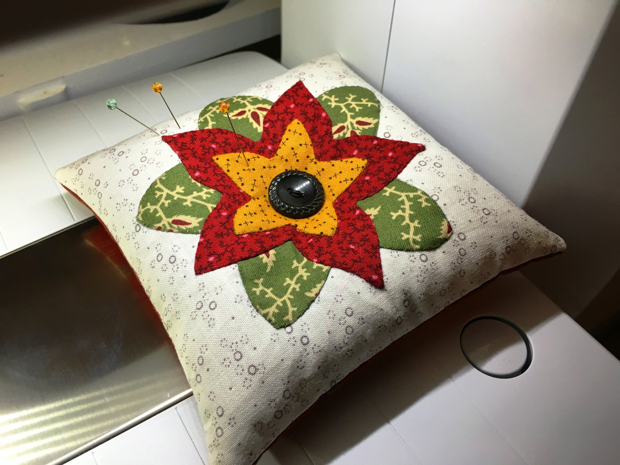 Back Basting Try Me Pincushion Pattern