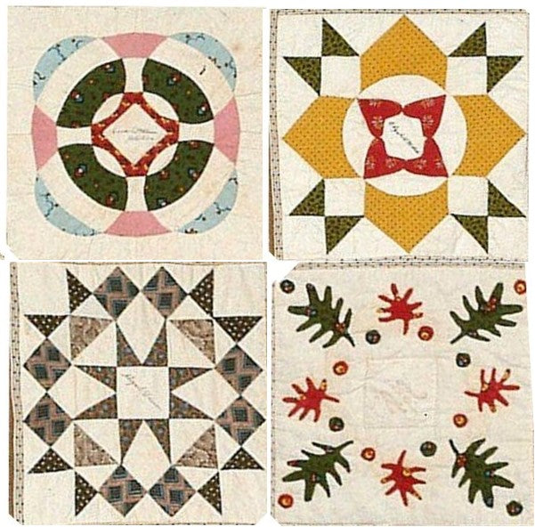 Ella Maria Deacon Quilt Block of the Month