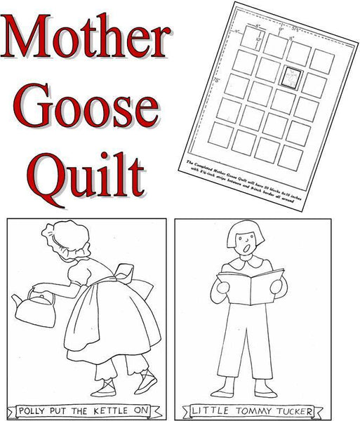 Mother Goose Quilt Series Pattern