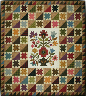 Beverly's Floral Bouquet Quilt Pattern