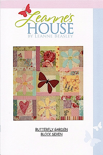 Butterfly Garden Block of the Month - INDIVIDUAL BLOCKS