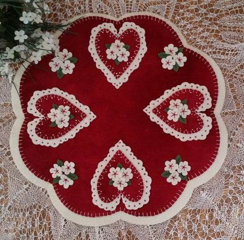 Doily Hearts Pattern