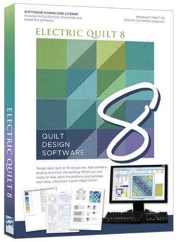 Electric Quilt 8 Design Software - EQ8 Full Version