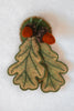 Maple & Oak Leaf Pin Pattern