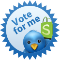 Vote for me on Twitter!  Win an Ipod Nano!
