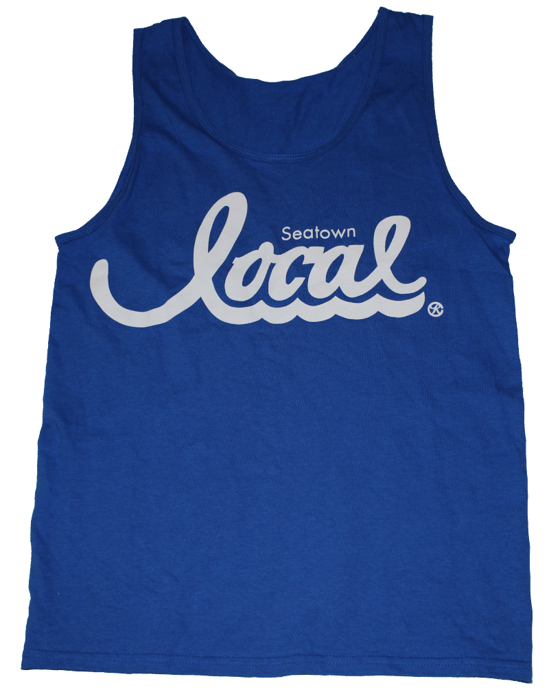 Seatown Local Tank (Men's) - Blue/White - Crisis